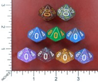 Dice : MINT52 CHESSEX D10 FROM POUND