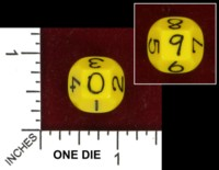 Dice : D10 OPAQUE ROUNDED SOLID UNKNOWN TRUNCATED OCTAHEDRON 03