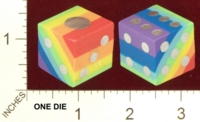 Dice : MINT22 RAINBOW ERASER