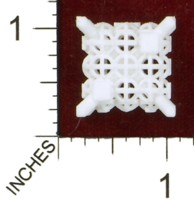 Dice : MINT43 SHAPEWAYS MCTRIVIA D6 GRID DIE 16 02
