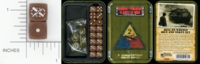 Dice : MINT15 GALE FORCE NINE FOR FLAMES OF WAR TD009 2ND ARMORED DIVISION HELL ON WHEELS 01