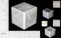 Dice : METAL ALUMINUM D6 15 ERIC KRUSENSTJERNA HIDDEN COMPARTMENT 01