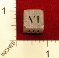 Dice : MINT22 SHAPEWAYS PATRICKVDVELDEN HOLLOW DICE ROMAN 02