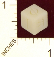Dice : MINT22 SHAPEWAYS GLYPHOBET MATHMATICIANS DIE