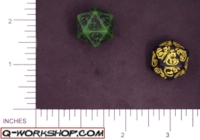 Dice : D20 OPAQUE ROUNDED SOLID Q WORKSHOP DRAGON RERELEASE 02