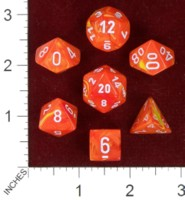 Dice : MINT40 CHESSEX 2014 POLY COLORS 03