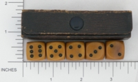 Dice : MINT1 UNKNOWN BAKELITE 01