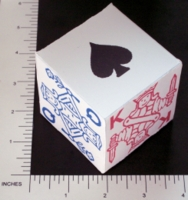 Dice : PAPER D06 MY DESIGN POKER 01