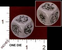 Dice : MINT29 IRON CROWN ENTERPRISES CITIES OF DOOM MONSTER DIE 01