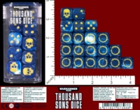 Dice : MINT54 GAMES WORKSHOP WARHAMMER 40000 THOUSAND SONS