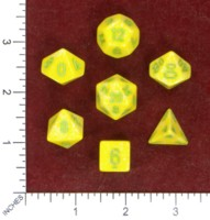Dice : MINT50 CHESSEX KEY LIME RECOLOR