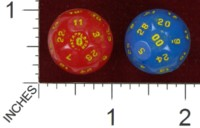 Dice : D28 UNKNOWN JUSTIN MICHELL REPRODUCTION