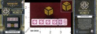 Dice : MINT35 PRIVATEER PRESS Q WORKSHOP WARMACHINE FACTION DICE PROTECTORATE OF MENOTH