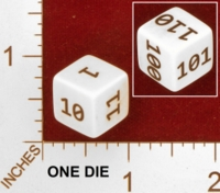 Dice : MINT27 ERIC HARSHBARGER BINARY DIE 01