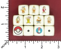 Dice : MINT52 HANDMADE BOOK TV SEVEN DWARVES POKEMON CAT IN THE HAT