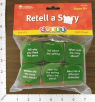 Dice : FOAM2 LEARNING RESOURCES RETELL A STORY 01