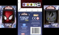 Dice : MINT42 FORREST PRUZAN CREATIVE WONDER FORGE MARVEL ULTIMATE SPIDERMAN FACE OFF DICE GAME
