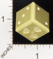 Dice : MINT18 ACE PRECISION BRASS RADIOACTIVE 01