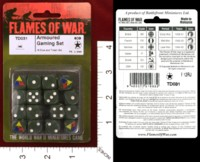 Dice : MINT33 FLAMES OF WAR TD031 ARMORED GAMING 01