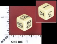 Dice : MINT51 FEARLIGHT GAMES HOOD PROTOTYPE