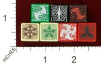 Dice : MINT43 TINDERBOX ENTERTAINMENT DICE EMPIRE SERIES 1 CELTIC NINJA