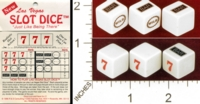 Dice : MINT27 R AND D CONSULTING NEW LAS VEGAS SLOT DICE 01