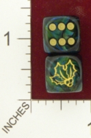 Dice : MINT20 CHESSEX CUSTOM FOR JSPASSNTHRU HOLLY 01
