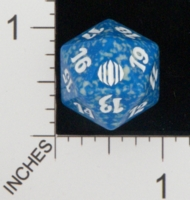 Dice : D20 OPAQUE ROUNDED SPECKLED MTG LIFE COUNTERS SHARDS OF ALARA 03