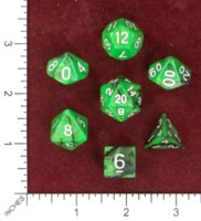 Dice : MINT50 UNKNOWN CHINESE IRIDESCENT SWIRL 05