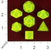 Dice : MINT40 CHESSEX 2014 POLY COLORS 02