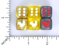 Dice : MINT54 JSPASSNTHRU CHICKEN ROOSTER