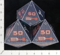 Dice : PAPER MULTI OVERSOUL GAMES MECHA SHADOWTECH INDUSTRIES COMBAT DICE 01