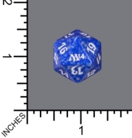 Dice : D20 MTG OPAQUE ROUNDED SPECKLED WIZARDS OF THE COAST MTG M14  03