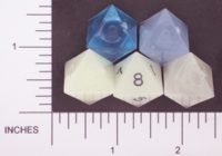 Dice : D8 TRANSLUCENT SHARP SOLID GAMESCIENCE 01