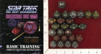 Dice : MINT22 FIVE RINGS PUBLISHING STAR TREK THE NEXT GENERATION COLLECTIBLE DICE BORG STARTER 01