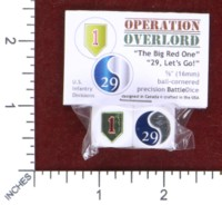 Dice : MINT50 BATTLESCHOOL OPERATION OVERLORD AMERICAN 1ST AND 29TH