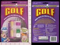 Dice : MINT18 PAUL LAMOND SPORT DICE GOLF 01