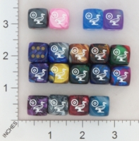 Dice : MINT16 CHESSEX SECRET SOCIETY SONS OF RA 01