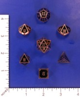 Dice : MINT57 UNKNOWN CHINESE COPPER RECESSED FACES