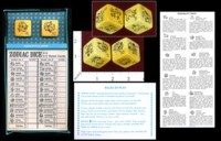 Dice : MINT37 CRISLOID ZODIAC DICE