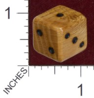 Dice :  OAK CURLY