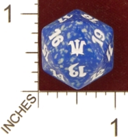 Dice : D20 OPAQUE ROUNDED SPECKLED MTG LIFE COUNTERS INNISTRAD 03