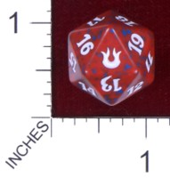 Dice : D20 OPAQUE ROUNDED SPECKLED MTG LIFE COUNTERS BORN OF THE GODS 01