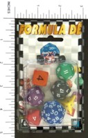 Dice : MINT2 EUROGAMES FORMULA DE 01