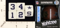 Dice : MINT18 USAOPOLY DALLAS COWBOYS YAHTZEE 01