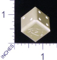 Dice : MINT19 ACE PRECISION D6 EYE OF HORUS 01