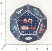 Dice : PAPER D12 OVERSOUL GAMES MECHA SHADOWTECH INDUSTRIES HEAVY MECHA COMBAT DICE 01
