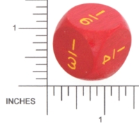 Dice : WOOD UNKNOWN 37 FRACTIONS