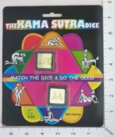 Dice : MINT17 UNKNOWN THE KAMA SUTRA DICE 01