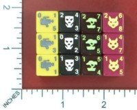 Dice : MINT51 WIZKIDS DICE MASTERS TEENAGE MUTANT NINJA TURTLES INDEPENDENTS